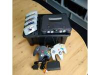 Nintendo 64 Console & 4 Games. Complete package.