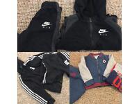 Children's toddler Tracksuit Nike Adidas converse
