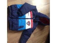 BOYS THOMAS AND FRIENDS COAT AGE 2/3 YEARS