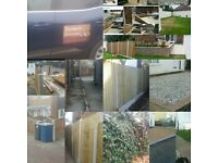 Fencing, decking,driveways,patios good prices