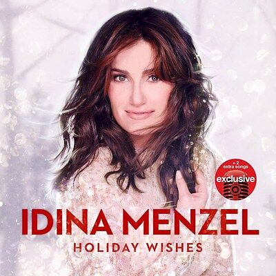 Idina Menzel   Holiday Wishes  Deluxe Edition  Target Exclusive Christmas Cd New