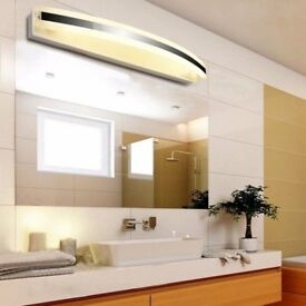 12W LED Mirror, Bathroom Wall, Front Light Lamp, Pic Display, Warm White, NEW, 5 AVAILABLE