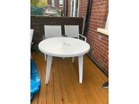 4 pc garden furniture