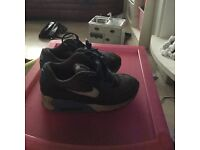 Used boys Nike trainers