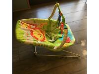 FISHER PRICE VIBRATING BOUNCER