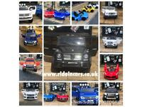 Parental Remote & Self Drive 12v Ride-On Cars, Audi Mercedes, Ferrari, Gwagon