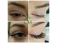 Semi permanent eyelash £40, lash lift £45,full body waxing £50 microblading/nanoblading £150
