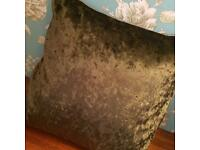New velvet crushed cushion
