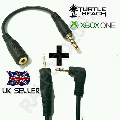 XBOX ONE® CHAT KIT 4 TURTLE BEACH HEADSETS - CABLE & ADAPTER...