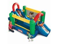 Little Tikes Jump and Double Slide Dry Bouncer.