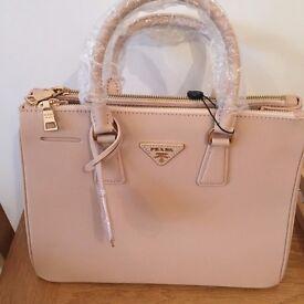 Prada Style Saffiano Hand Bag NEW