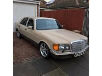 Mercedes 380Se W126 380 Se Classic -- Open To Offers