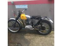 BSA C15T classic trials bike