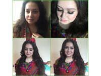 EAST LONDON INDIAN PAKISTANI ARABIC BENGALI PUNJAB TAMIL MUA PROM PARTY BRIDAL MAKE UP ARTIST ILFORD