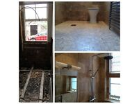 BATHROOMS mob.07894457250 Plumbing Electric PlasteringTiling Flooring Painting/ Warranty & Service