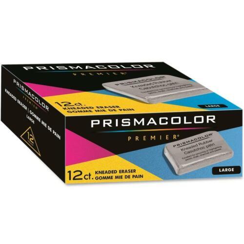 Prismacolor Kneaded Rubber Art Eraser - Pencil Pastel - Large - 12 PC 70531