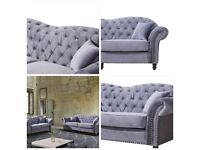 🎀🎀MASSIVE SALE OFFER🎀🎀BRAND NEW CHESTERFIELD PLUSH VELVET 3+2 SEATER SOFA🎀🎀AVAILABLE NOW🎀🎀
