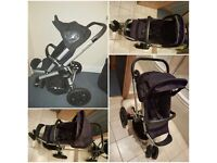 Quinny Buzz 3 in 1 Travel System (Rocking Black)