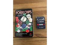 Poker chips and playing cards ♠️