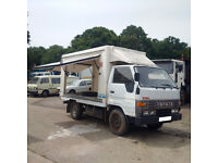 Left hand drive Toyota Dyna 150 LY61 2.8 diesel 3.5 Ton Isothermic / Cold Room box lorry.