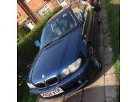 "BMW 320 CI SE 2004 FACELIFT ANGEL EYES HALO LIGHTS 18""MVII ALLOYS PIONEER MP3 HEADUNIT LOADS EXTRAS"