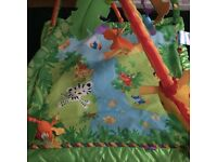 Musical and lights play mat
