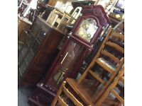 Vintage grand father clock
