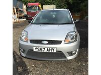 Ford Fiesta Sport Van TDCI DEC 2007 alloys, tow bar, blue tooth Parrot. VAT inclusive price