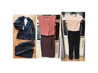 Size 6 tailored suit work clothes bundle