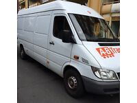 MAN AND VAN HIRE FROM £15/STORAGE AVAILABLE/LOCAL & NATIONAL MOVES/7 DAYS/SHORT NOTICE/CHEAP HIRE