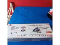 Flying remote control helicopter