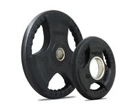 Bodymax Olympic Rubber Radial Weight Plates (167.5kg total)