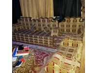 Complete Arabian style sofa 2nd hand but in good condition