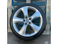 """Vauxhall Astra Dicastal Single Spare 19"""" Alloy Wheel & 235/40/19 Tyre"""
