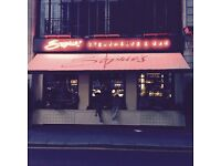 * NOW HIRING WAITING STAFF AT SOPHIES COVENT GARDEN *