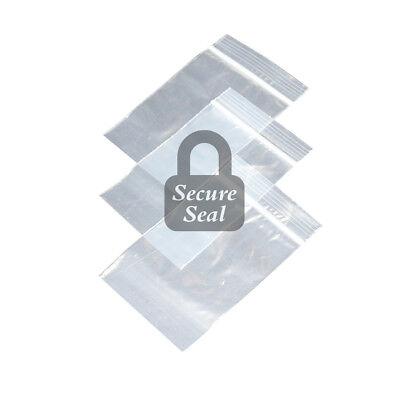 Pick Quantity 1-1000 9 X 12 Reclosable Resealable Clear Long Zip Lock Poly Bag