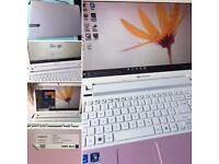 Packard bell 16.9 HD LED LCD easy note pink laptop