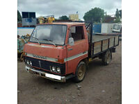 Left hand drive Toyota Dyna 200 / BU20 3.0 diesel single wheel 3.5 Ton truck.