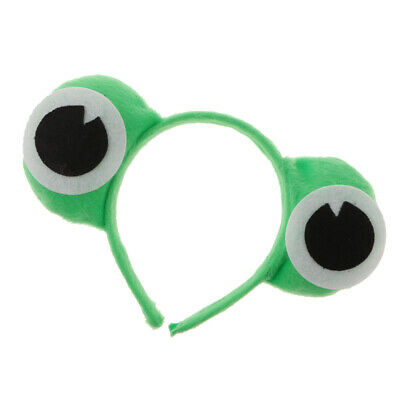 Haarreifen mit Froschaugen für das perfekte Frosch Kostüm (Frosch Augen Kostüm)
