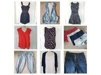 Bundle size 10 womens clothes - french connection, warehouse, next, topshop 26 items