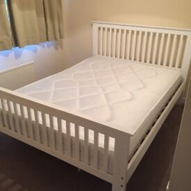 New double bed and mattress for sale