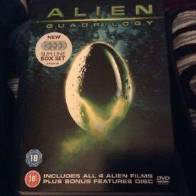 Alien quadrilogy DVD boxset
