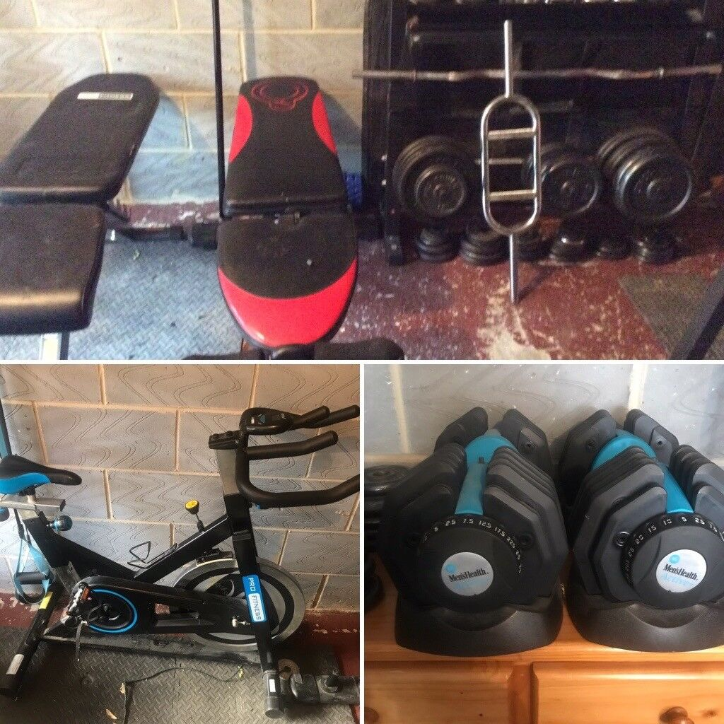 Home gym for garage or small room