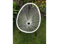 Child's egg garden chair