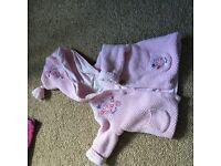 Baby girls mixed bundle 0-6m