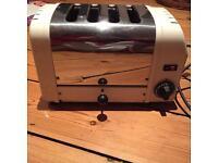 Dualit 4 slice toaster, white