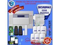 Professional Burglar Alarm System - UK Made Mobile App Control - Major Brand