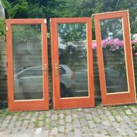 French Doors with Side Light