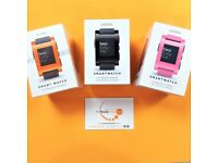 Pebble Watch (Available in Black, Pink and Orange) - For Sale