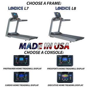 Top Quality Treadmill treadmills Landice L7 L8 w/ Orthopedic Suspension Made in USA